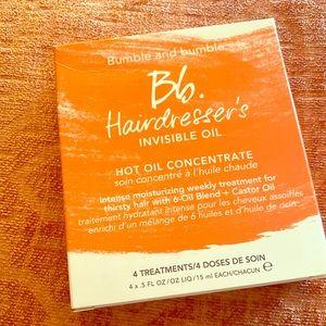Bumble & bumble 3 hot oil treatment 4x5 fl oz
